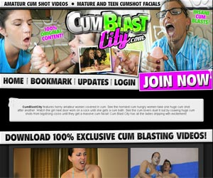 Cum Blast City - Mature and Teen Cumshot Facials