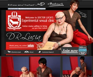 Doctor Lucia - Your extreme sexual therapy starts TODAY