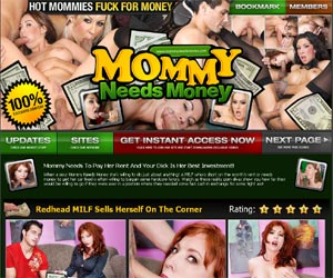 Mommy Needs Money - MILFs Earn Money With Hardcore Sex Videos
