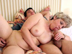 Mature blowjob and fucking