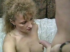 Aged blond mature does hot blowjob w big pleasure