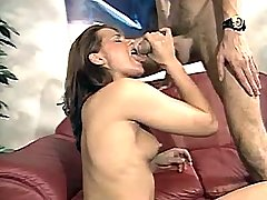 Horny milf gets wild anal and gives slobbery blowjob