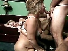 Old women in crazy orgy